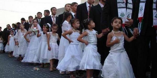 Znalezione obrazy dla zapytania sluby muzulmanow z dziecmi