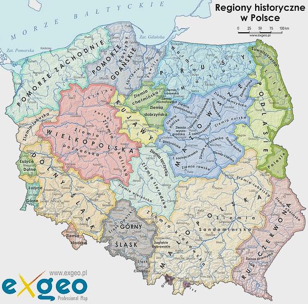 Krainy Historyczne W Polsce Wolne Media